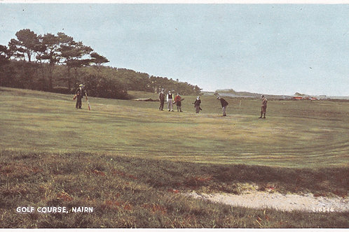 Nairn Championship Golf Links Ref.1907 C.1930s