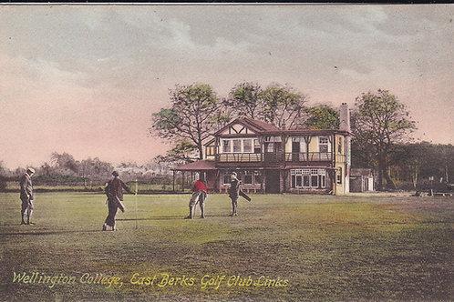 Wellington College Golf House/Links Ref.510 C.Pre 1918