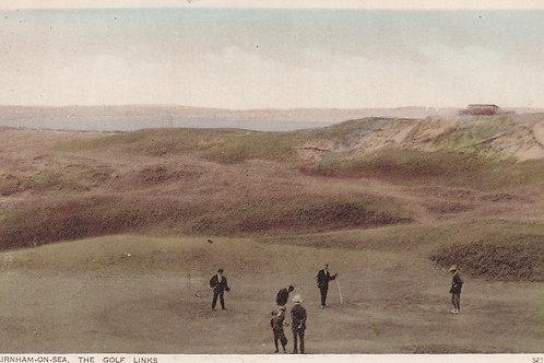 Burnham Golf Links Ref.1028a C.Pre 1914