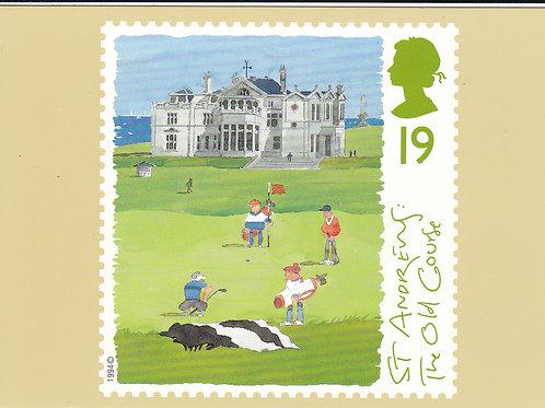 St Andrews Stamp PC Ref.1649 C.1994
