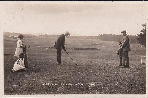 SOLD>Ref.1693.Grantown-on-Spey Golf Course Ref.1693 C.1926