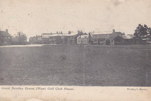 Bentley Green Golf House,Essex.Ref 248. C. 1900