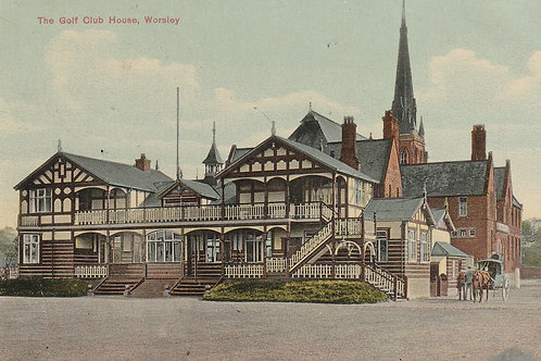 Worsley Golf Club House Ref.2747 C.1908?