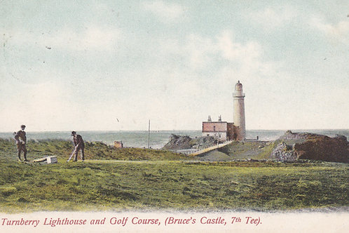 Turnberry Golf Course & Lighthouse.Ref 512. C.1907