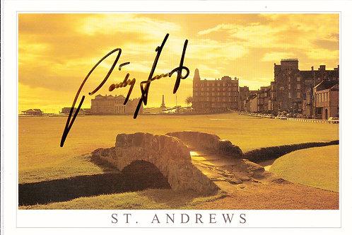 SOLD>Ref.586.St Andrews & Swlican Bridge.SIGNED  Ref.586 C.2010