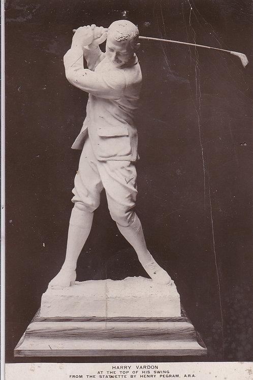 Vardon, Harry Statue  Ref.1541