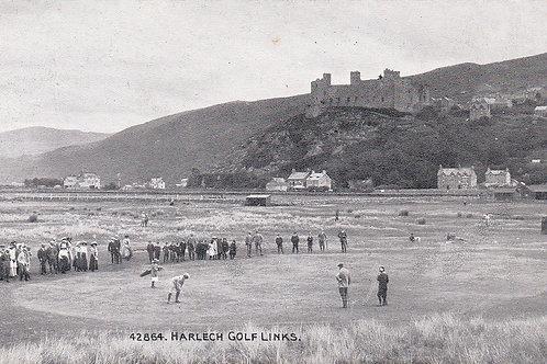 Vardon,Harry/Harlech Golf Links,Ref 690 C.Pre 1918