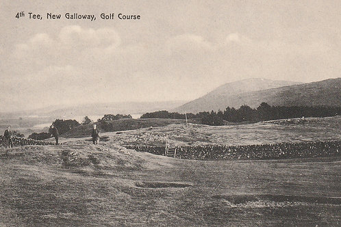 New Galloway Golf Course Ref.2452 C.Pre 1914