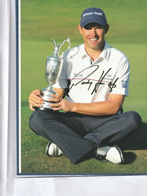 Signed British Open Championship Annual Ref.GB 435 Birkdale 2008