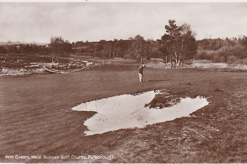 West Sussex Golf Links Ref.2225a C.1930s