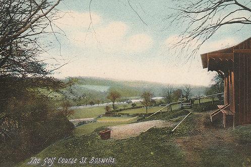 St Boswells Golf Pavilion/Golf Course Ref.2555 C.pre 1914