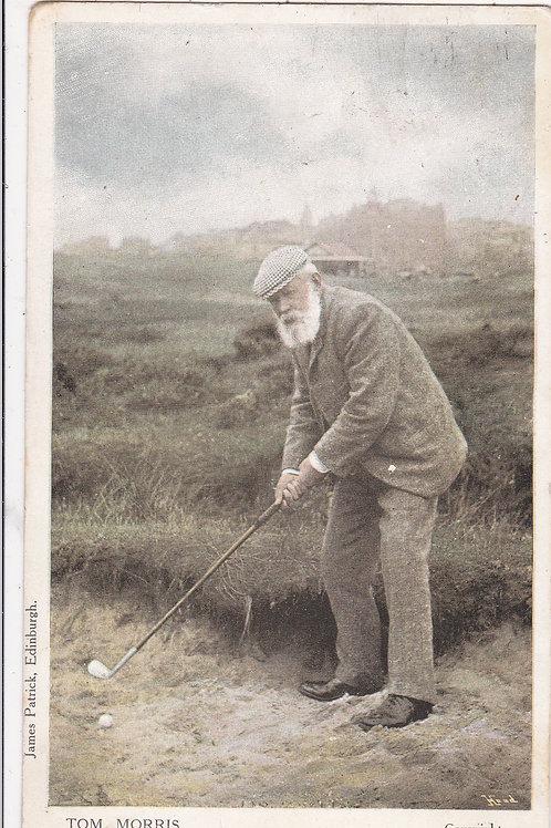 SOLD>Ref.402. Tom Morris At St.Andrews.Ref.402.  C.1905