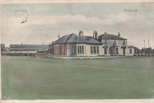Prestwick (Old) Golf Club House Ref.2283a C.1905