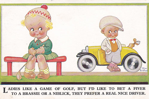 Comic Golf PC Childrens Golf Ref.2032 C.1930