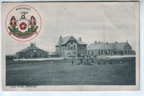 Montrose Golf Club Houses Ref.2245a C.1908