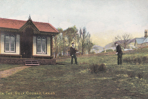 Largs Golf Links/Club House.Ref 318. C.Early1900s