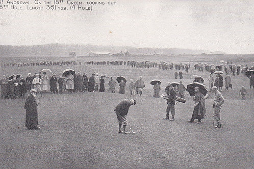 Tom Morris St Andrews18th Green.Ref 135. C.1901