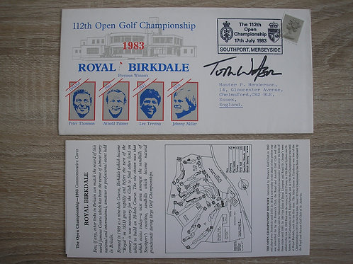 1983 Birkdale British Open FDC Ref.119 C.1983