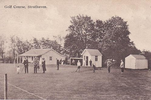 SOLD>Ref.564.Strathaven Golf Course/Club .Ref 564. C.1923