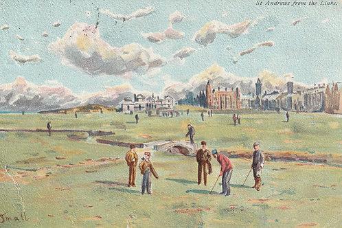 St Andrews Links golf Art PC Ref.2339 C.1911