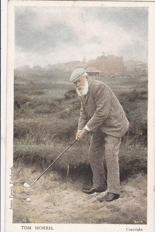 Tom Morris at St.Andrews.Ref 354 C.1902-5