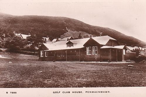 Penmaenmawr G.C. C.1910-15 Ref.1845