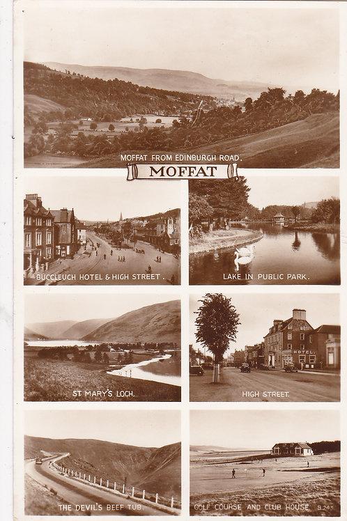 Moffat Golf Course.Multi View Ref 112 C.1940s