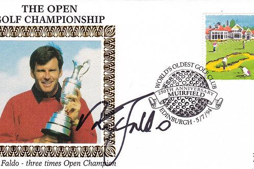 British Open Silk SIG. Comm Cover.Ref 24. C.1994