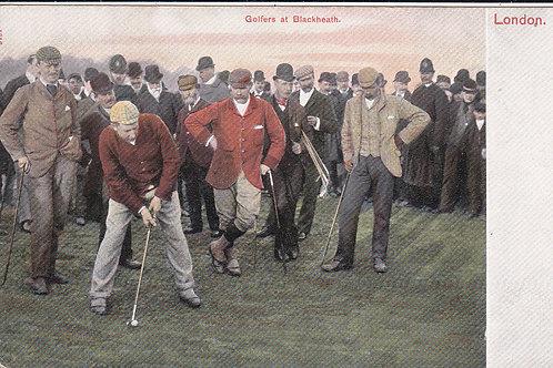 Blackheath Golf Match Ref 1139 C.Early 1900