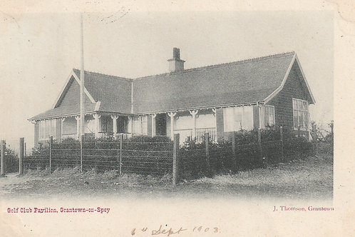 Grantown-on-Spey Golf Pavilion Ref.2688 C.pre 1903