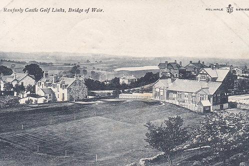 Ranfurly Castle Golf Links.Ref 834. C.1906