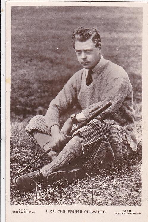 H.R.H Prince of Wales Ref.289 C.1926