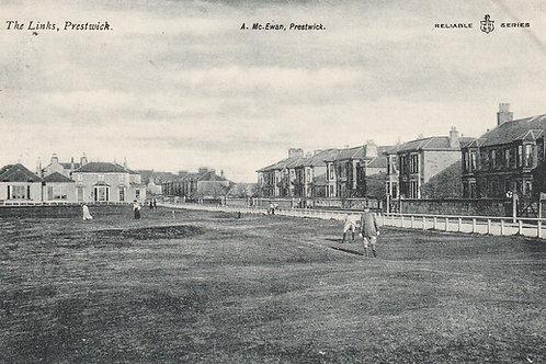 Prestwick Old Links Ref.2437 C.1905-10