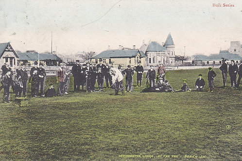 """Ben Sayers.""""At the Tee""""Carnoustie Ref 824 C.1906"""
