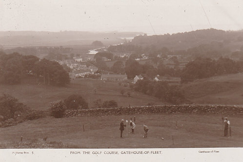 Gatehouse of Fleet Golf Course & Village Ref.2406 C.1925-30