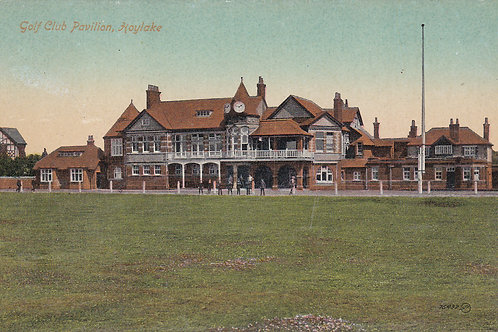 Hoylake Golf Pavillion.Ref 287. C.1915-18