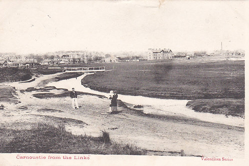 Carnoustie from the Links.Ref 363. C.1904