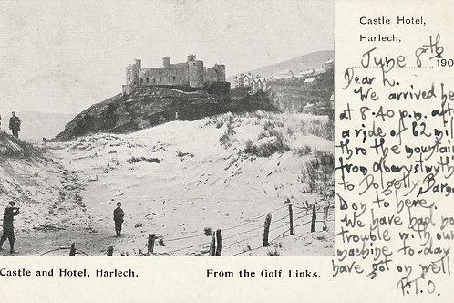 Harlech Golf Links & Castle C.pre 109 Ref.2617