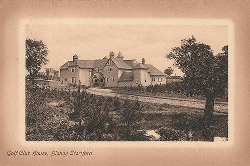 Bishop's Stortford Golf House Ref.2472 C.Pre 1914