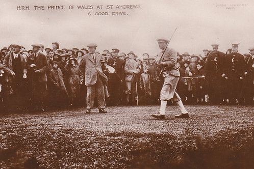 St Andrews Prince of Wales & Alex Herd Ref.787 C.1922 P.O.W.