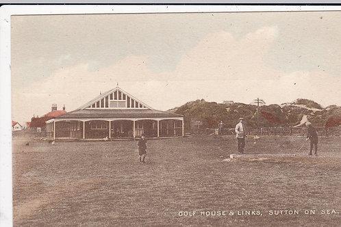 Sutton-on-Sea Golf Pavilion Ref.1166 C.Early 1900