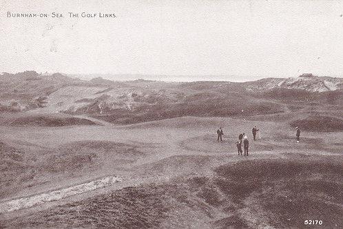 Burnham-on-Sea Golf Links.Ref 829. C.1923