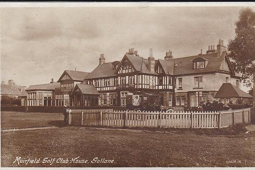 Muirfield Golf Club House Ref.1718 C.1913