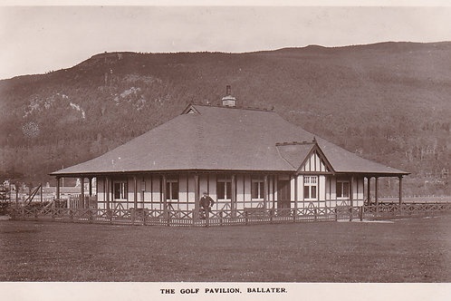 Ballater Golf Club House & Links.Ref 350. C.1910