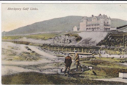 Aberdovey Golf Links Railway PC  Ref.559 C.1906