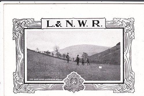 Llanwrtyd Golf Links Ref.188 C.Ea 1900s