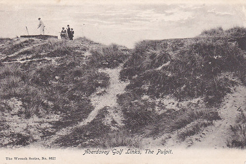 Aberdovey Golf Links,Ref 292. Pulpit Tee C. 1905