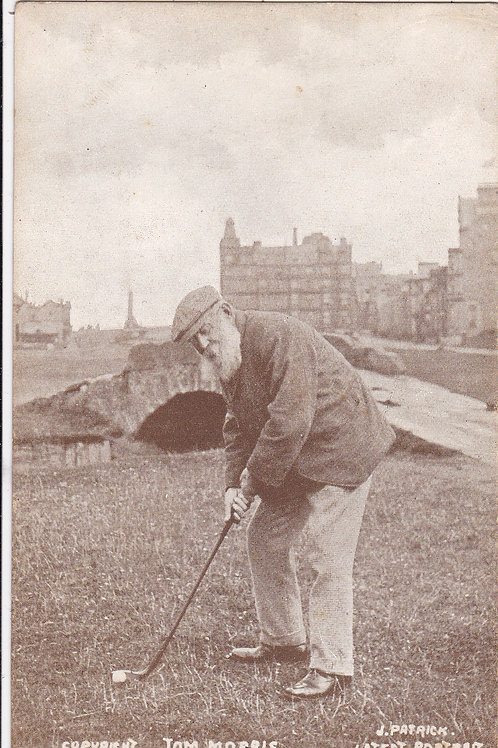 SOLD>Ref.1361. Tom Morris at St Andrews Ref.1361 C.1900-5
