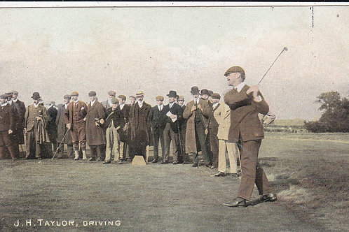 J.H.Taylor Driving C.Ea.1900 Ref.692