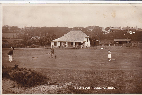 Abersoch Golf Pavilion & Links Ref 1310 C.1928